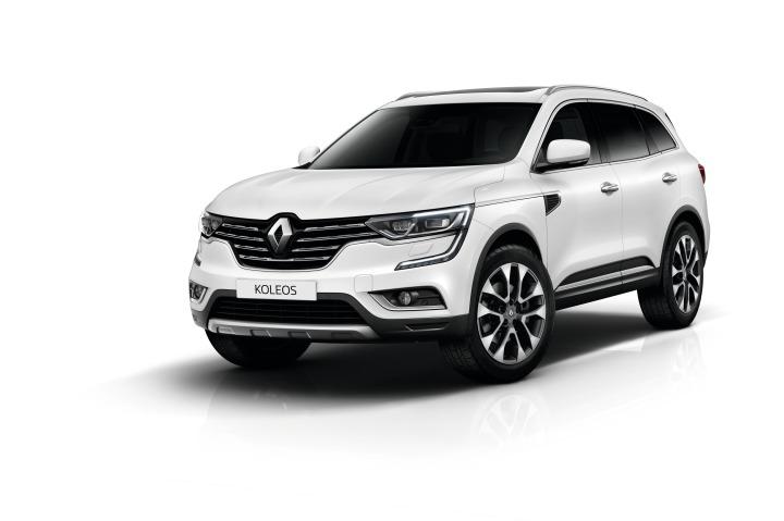 Renault Koleos   Zamówienia na nowe Renault Koleos w serii limitowanej Premiere Edition zostały już otwarte. Oficjalna premiera samochodu na rynku polskim będzie miała miejsce we wrześniu br., ale pierwsze samochody pojawią się w salonach już w czerwcu.  Fot. Renault