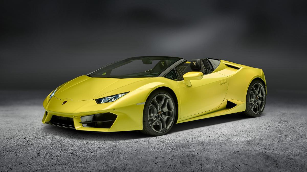 Lamborghini Huracan Spyder Rwd Z Napedem Na Tyl