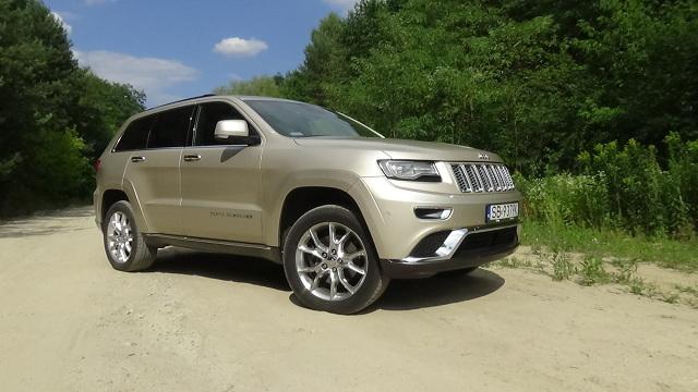 Fot. Kacper Rogacin  Na rynku wtórnym największym wzięciem cieszą się SUV-y z silnikami diesla. Jeep Grand Cherokee z motorem 3.0 V6 CRD powinien więc mniej stracić na wartości od analogicznie wyposażonego egzemplarza z benzynowym Pentastar 3.6 V6 oraz szybciej znaleźć nowego właściciela.