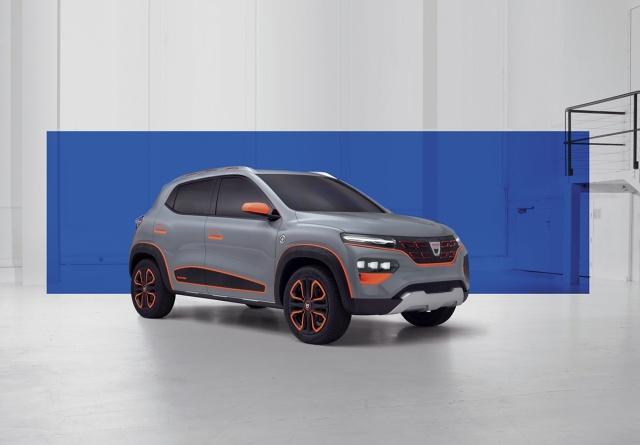 Wersja seryjna Dacii Spring będzie mieć zasięg około 200 km zgodnie z WLTP. Auto ma się pojawić na rynku w 2021 roku. Fot. Dacia
