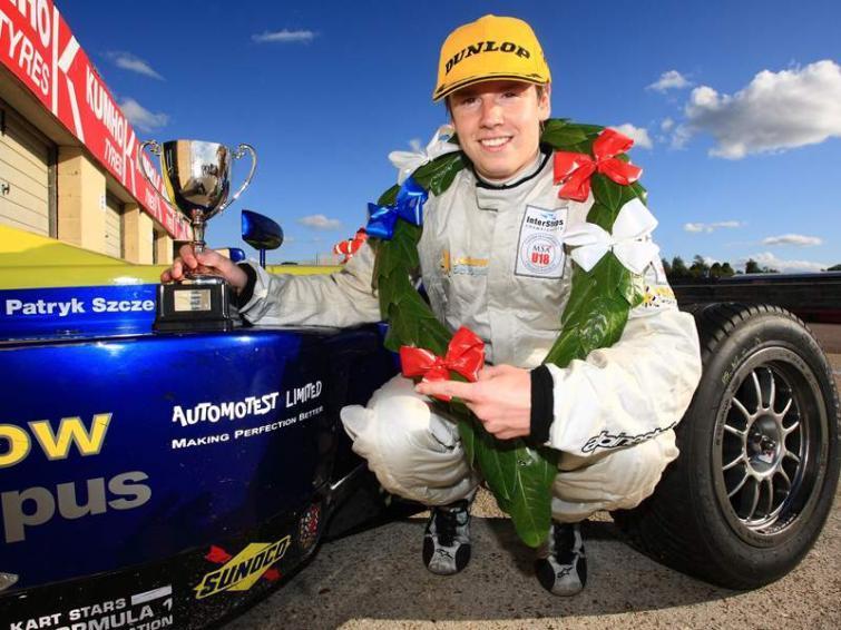 Wyścigi: Patryk Szczerbiński w Porsche Supercup