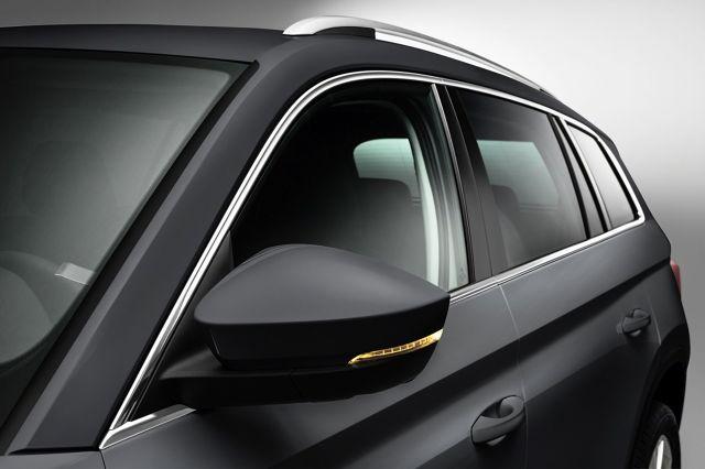 Skoda Kodiaq  Na krótko przed światową premierą Skody Kodiaq, która odbędzie się 1 września w Berlinie, czeska marka uchyla rąbka tajemnicy. Prezentuje wybrane detale nadwozia swojego nowego, dużego modelu w segmencie SUV.   Fot. Skoda