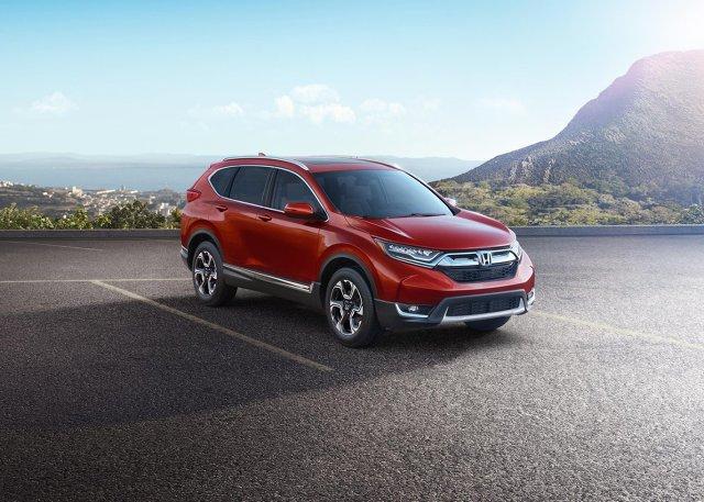 Honda CR-V  iąta generacja Hondy CR-V USA pojawi się wiosną 2017 r., a w Europie nie wcześniej jak jesienią.  Fot. Honda