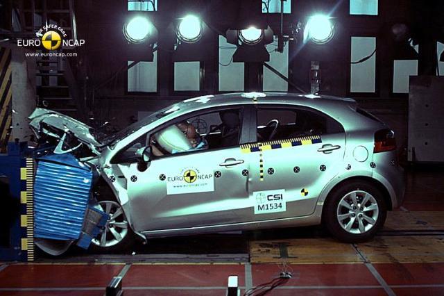 Nowe testy zderzeniowe Euro NCAP - zobacz filmy