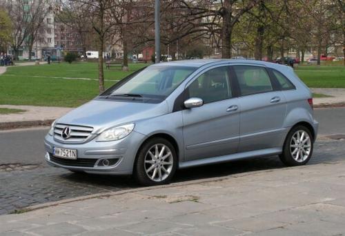 Fot. Ryszard Polit - Mercedes-Benz Klasy B to tzw. kompaktowy minivan, w którym wykorzystano płytę podłogową modelu Klasy A.