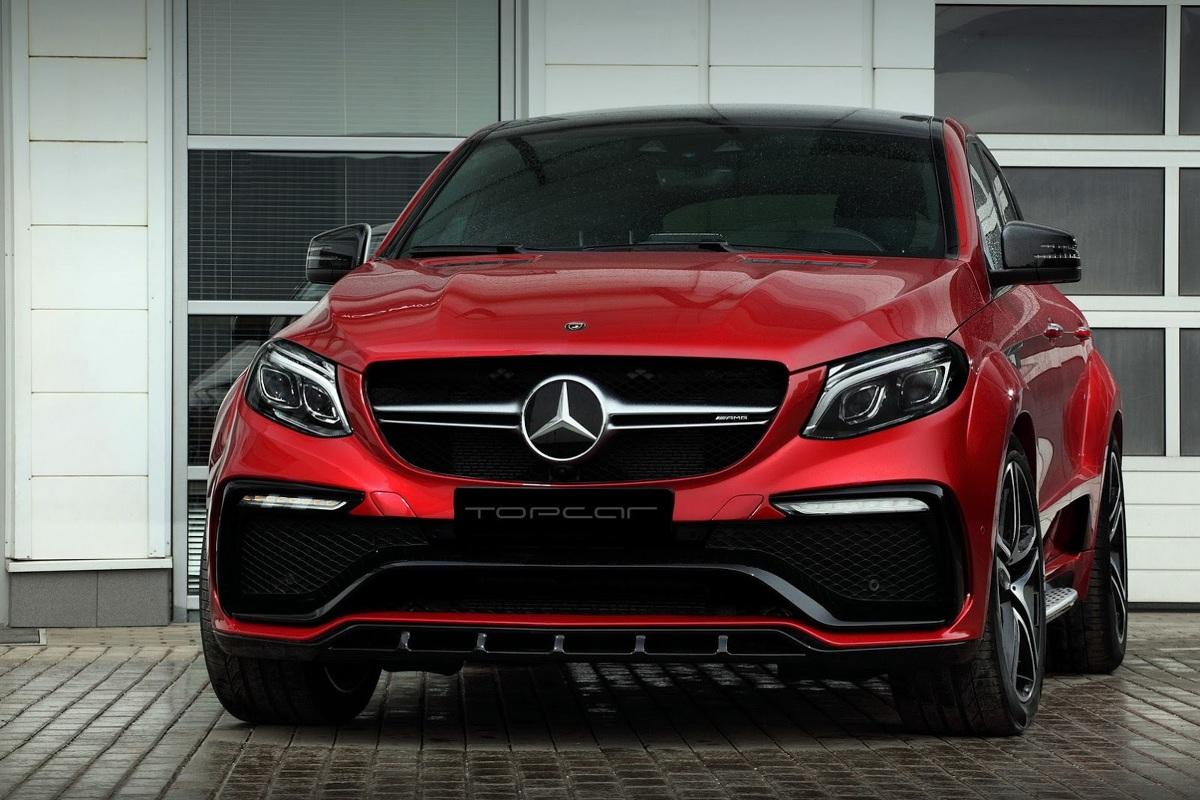 Mercedes GLE Coupe  Silnik V6 3.0 TwinTurbo standardowo dostarcza moc 367 KM. Tuner sprawił, że jednostka napędowa zyskała 87 KM, czyli legitymuje się teraz mocą 454 KM.  Fot. TopCar