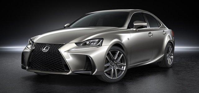 Lexus IS 2017   Zgodnie z zapowiedzią, Lexus zaprezentował podczas trwających właśnie targów w Pekinie odświeżoną wersję sedana IS. Najważniejsze zmiany obejmują przód samochodu, nowe reflektory i nowy, większy ekran systemu multimedialnego.  Fot. Lexus