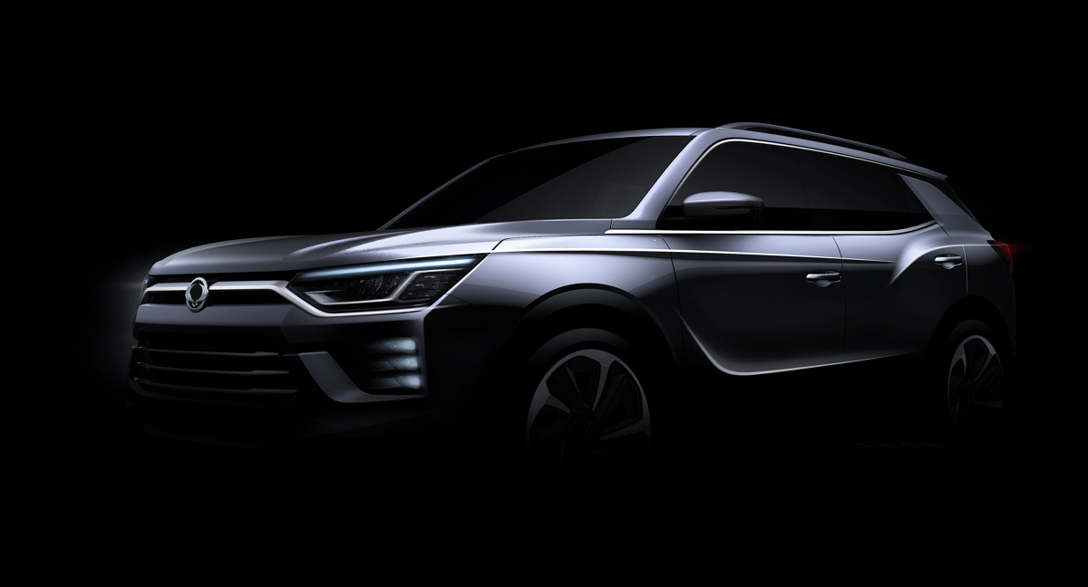 SsangYong Korando  Model ten to czwarta generacja SUV-a  Korando, który opracowany został na podstawie samochodu koncepcyjnego SIV-2, po raz pierwszy zaprezentowanego w Genewie w 2016 r.  Fot. SsangYong