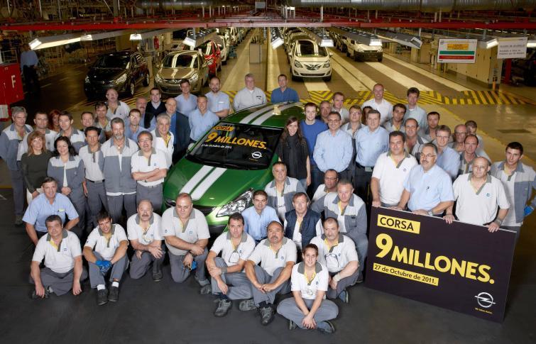 Opel Corsa - wyprodukowano już 9 milionów sztuk