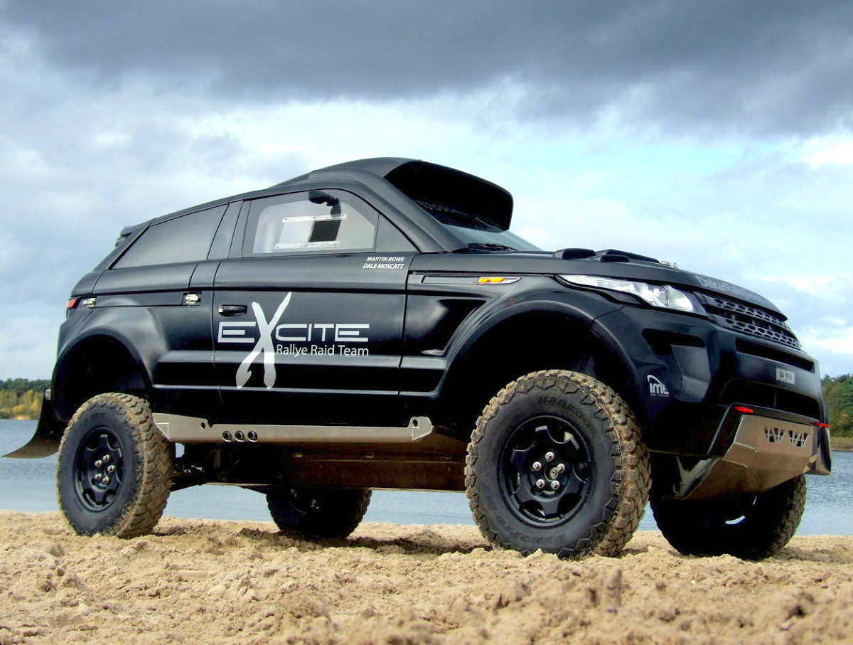 Range Rover Evoque Desert Warrior 3 Fot:  Excite Rallye Raid Team