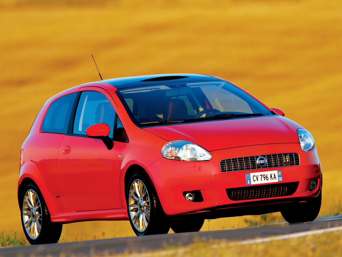 Fiat Grande Punto 2005 / Fot. Fiat