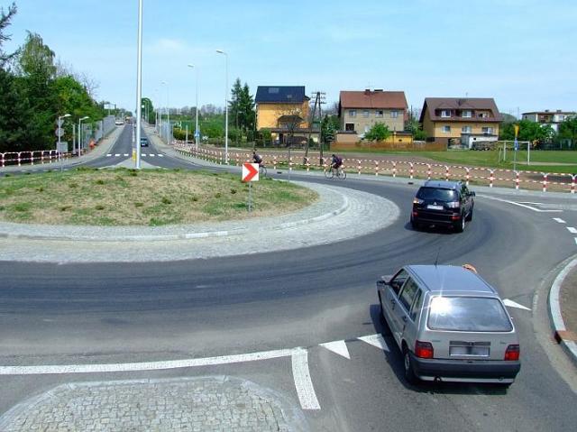 Droga wojewódzka 426 w Zalesiu Śląskim przebudowana