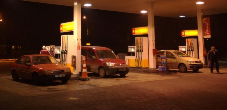 Ceny paliw na Podkarpaciu (9.11)