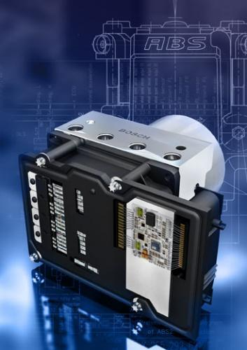 Fot. Bosch: System ABS został zaprezentowany już w 1978 r.