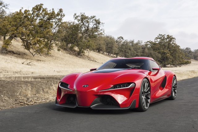 Toyota FT-1 Concept  Pierwszą zapowiedzią nowej sportowej Toyoty była Toyota FT-1 Concept. Następca Supry będzie nowym flagowym samochodem sportowym marki.   Fot. Toyota