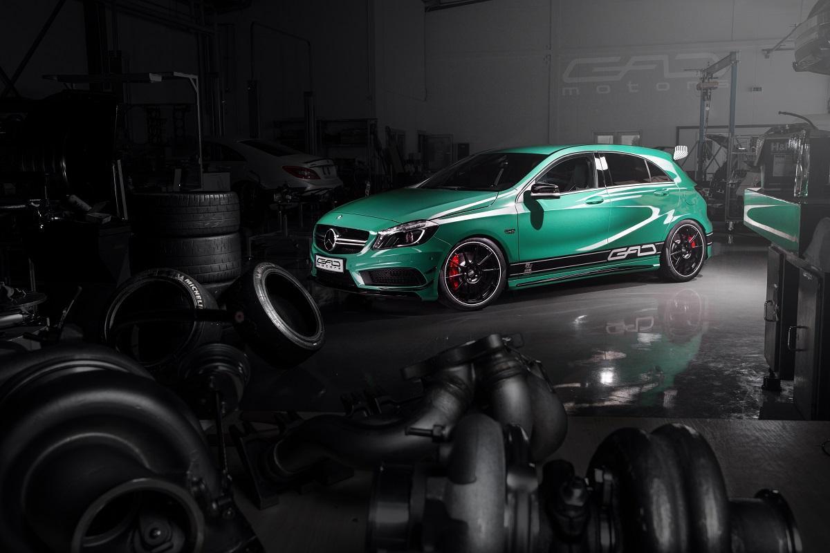 Mercedes-Benz A45 AMG / Fot. GAD Motors