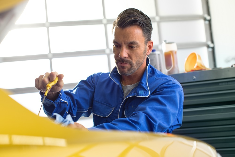 Inspection - Vehicle Check - Oil Service