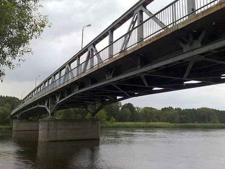 Remont mostu na Odrze pomiędzy Gryfinem a Mescherin