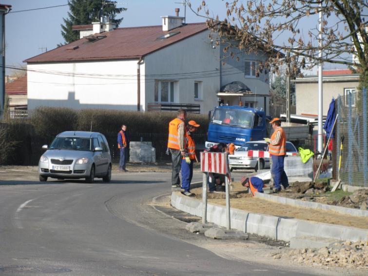 Utrudnienia na drogach krajowych na Podkarpaciu