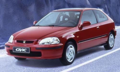 Fot. Honda: Honda Civic z nadwoziem 3-drzwiowego hatchbacka była produkowana wyłącznie w Japonii.