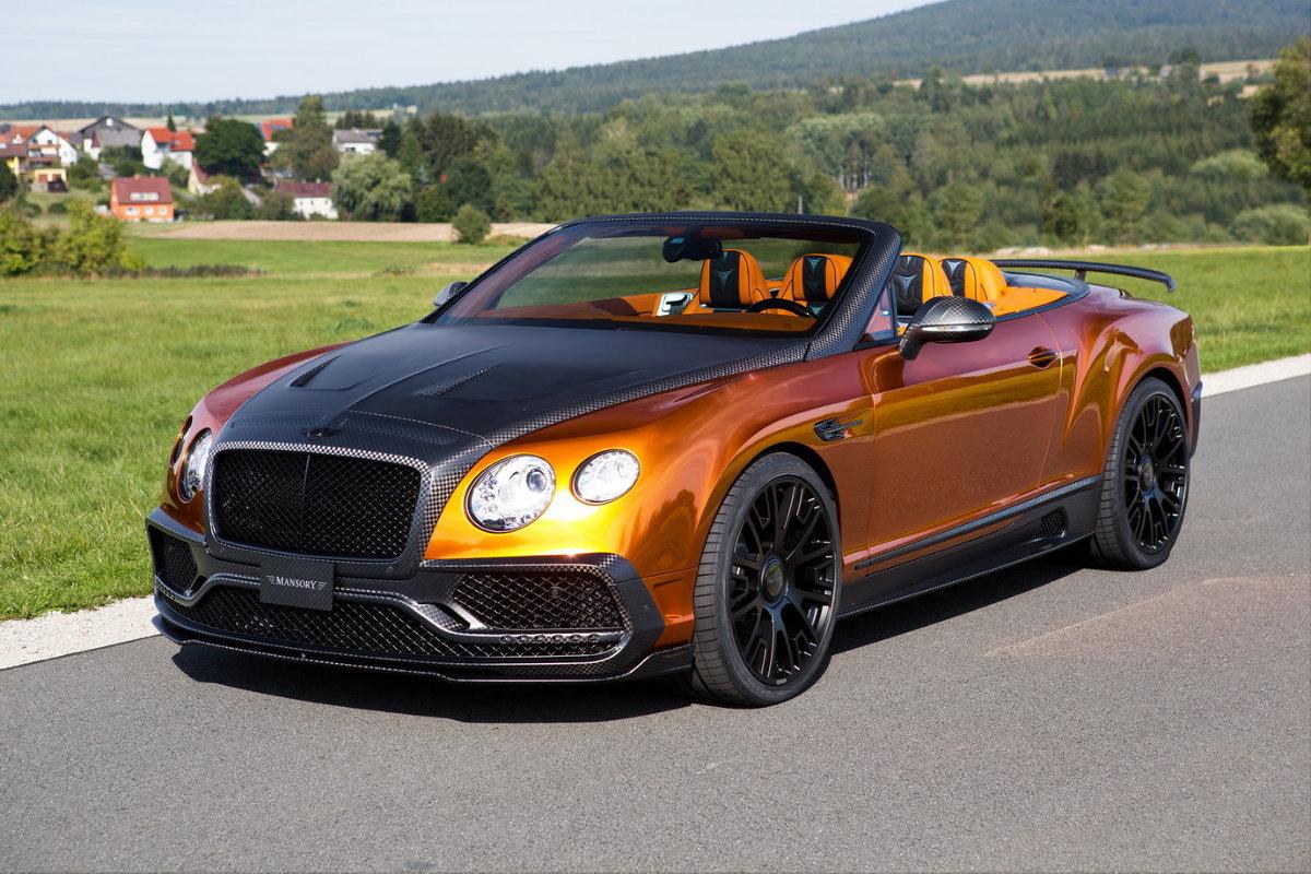 Bentley Continental Gtc Po Tuningu Blisko 1000 Km Mocy W