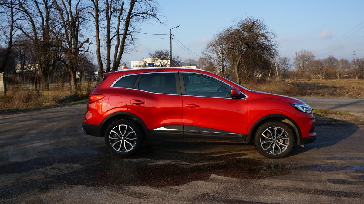 Model Renault Kadjar jest z nami już od dobrych kilku lat i niedawno doczekał się odświeżenia.  Fot. Konrad Grobel
