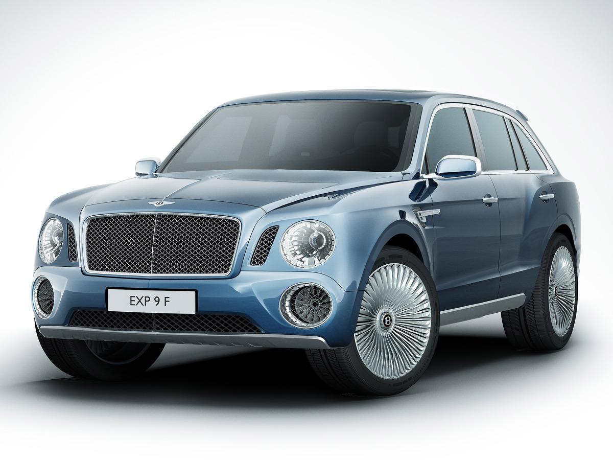 Bentley EXP 9 F Concept / Fot. Bentley