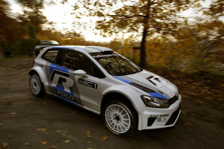 Volkswagen Polo R WRC po pierwszych testach (zdjęcia)