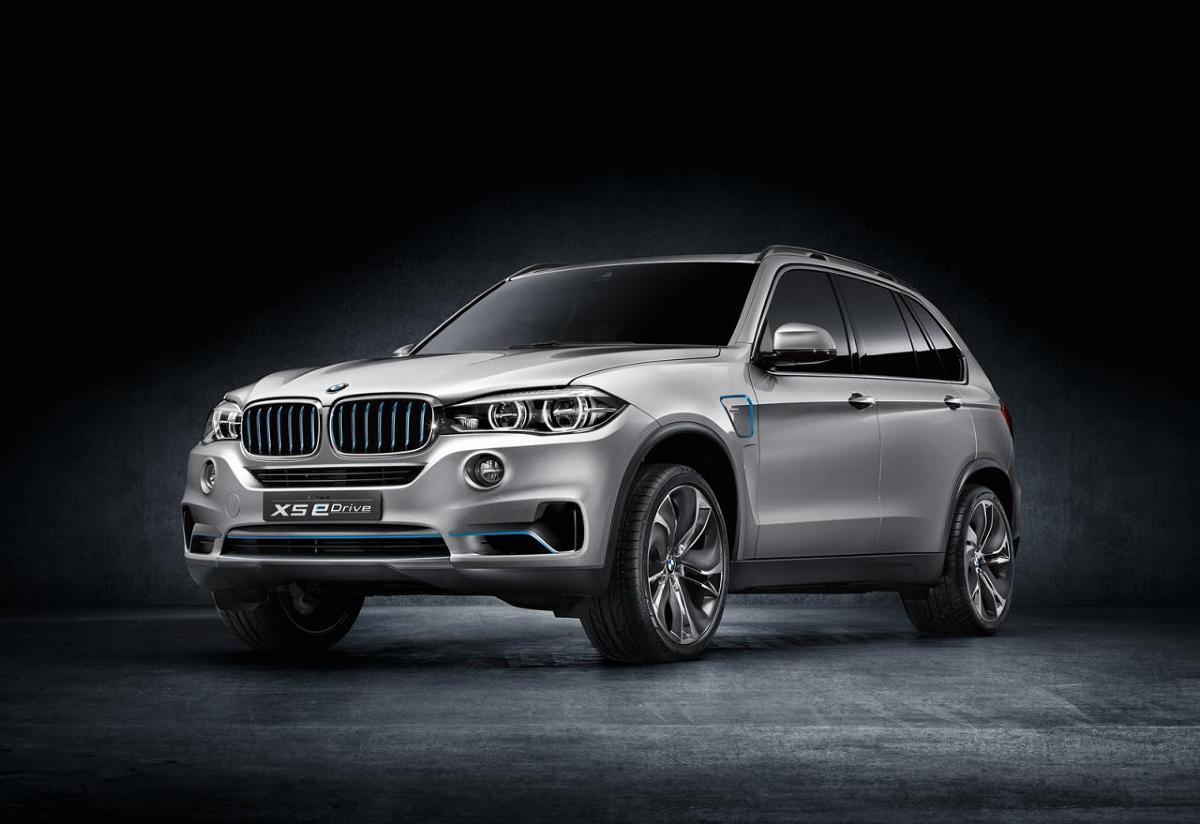 BMW X5 eDrive concept / Fot. BMW