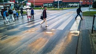 Kodeks drogowy 2019. Jaka kara za zanieczyszczenie drogi?