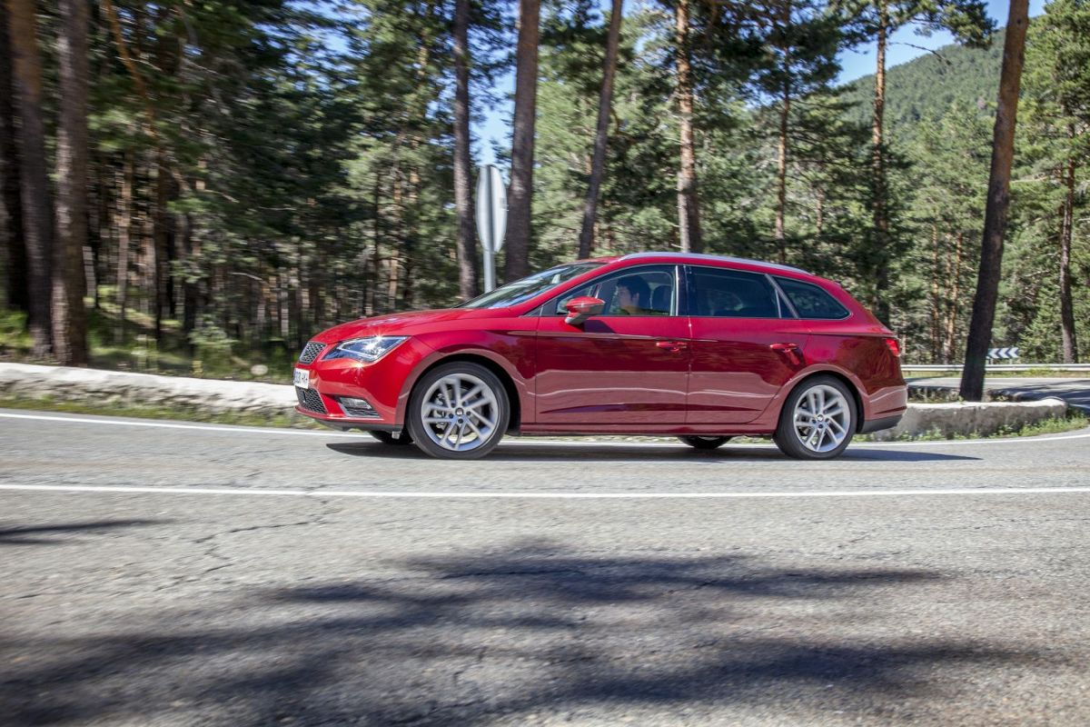 Seat Leon ST 4Drive, Fot: Seat