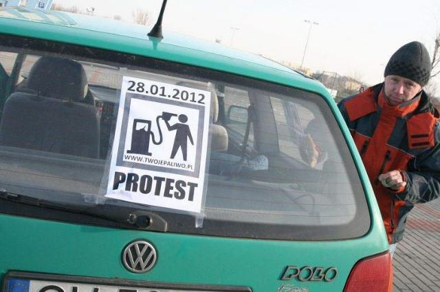 Stop rosnącym cenom paliw. Będzie protest we Włocławku [wideo]