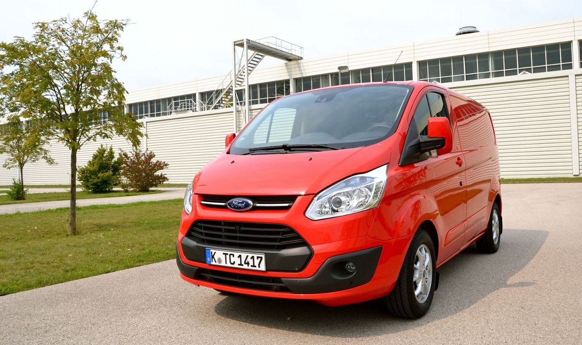 Ford Transit Custom, Fot: Ford
