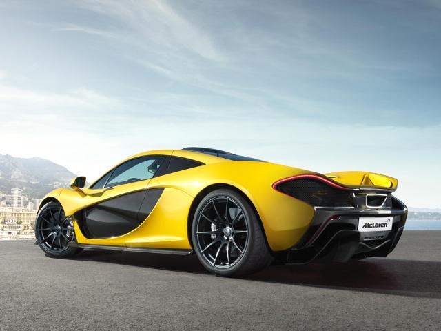 zdjęcie McLaren P1