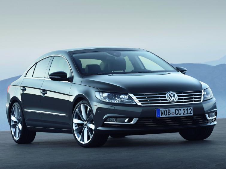 Volkswagen Passat CC po liftingu - zobacz zdjęcia