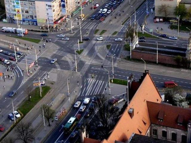 Nowe torowisko na Bramie Portowej w Szczecinie