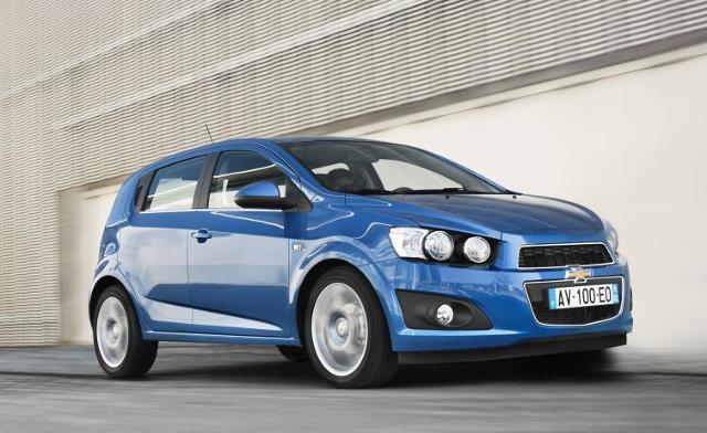 Nowy Chevrolet Aveo - sprawdź ceny