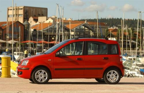 Fot. Fiat: W dalszym ciągu najchętniej kupowanym samochodem osobowym w Polsce jest Fiat Panda. Spada sprzedaż zdetronizowany lidera - Secento, który jest na 10. miejscu.