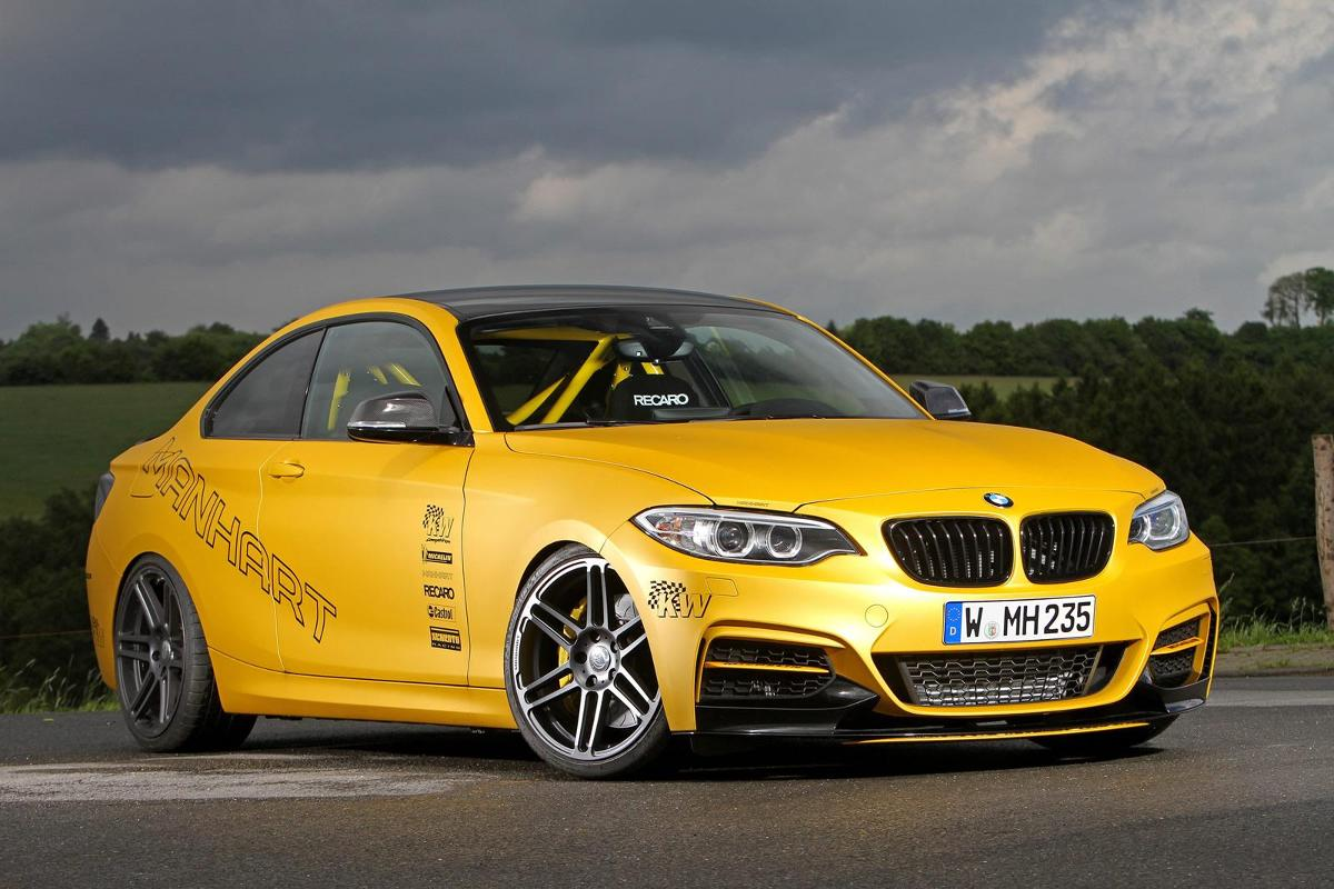 BMW M235i Coupe / Fot. Manhart