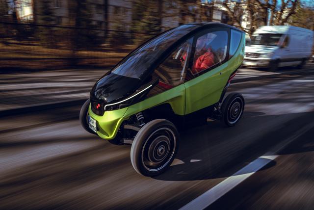 Triggo   W przyszłym tygodniu na targachmotoryzacyjnych Geneva International Motor Show 2020 zadebiutuje polski samochód elektryczny Triggo. To pierwszy w historii tych targów pojazd zaprojektowany i zbudowany w całości w Polsce. Produkcja auta rozpocznie się w 2021 roku.  Fot. materiały prasowe