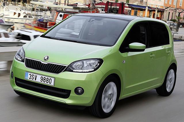 Skoda Citigo   Ci którzy liczyli na duże zmiany w modelu Citigo, mogą czuć się zawiedzeni, Face-lifting oznacza głównie nowe wyposażenie pojazdu.   Fot. Skoda