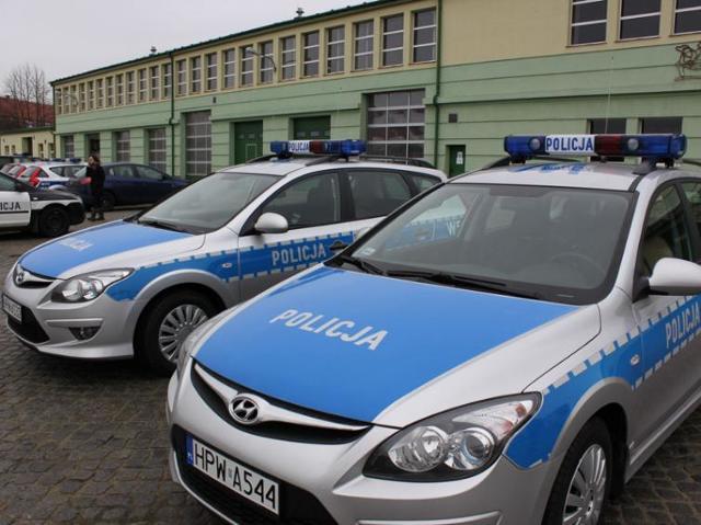 Hyundaie  dla mundurowych z Kołobrzegu, Świdwina i Drawska