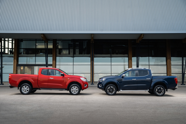 Nissan Navara   Nissan zaprezentował mocniejszego, inteligentniejszego i oszczędniejszego pod względem zużycia paliwa pick-upa Navara, wyposażonego w szereg nowych rozwiązań podnoszących atrakcyjność tego modelu.  Fot. Nissan