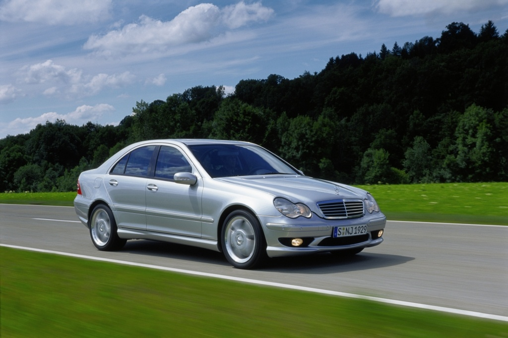 Używany Mercedes C 2000 2007