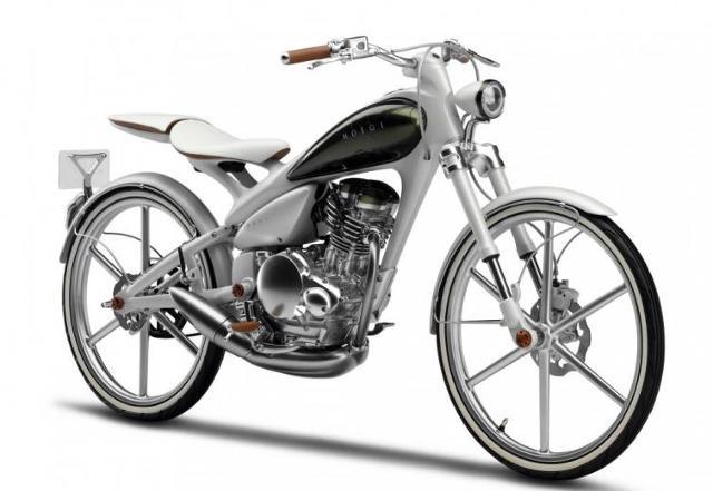 Yamaha Y125 MOEGI - oszczędny koncept (FILM)