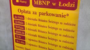 Łódź. Modlitwa opłatą za parking (video)