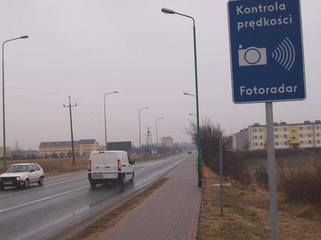 Nowe fotoradary staną w Białym Borze