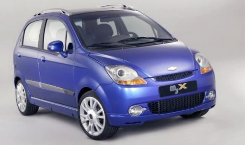 Fot. Chevrolet: Następca Matiza – na razie jako pojazd studyjny o nazwie M3X.
