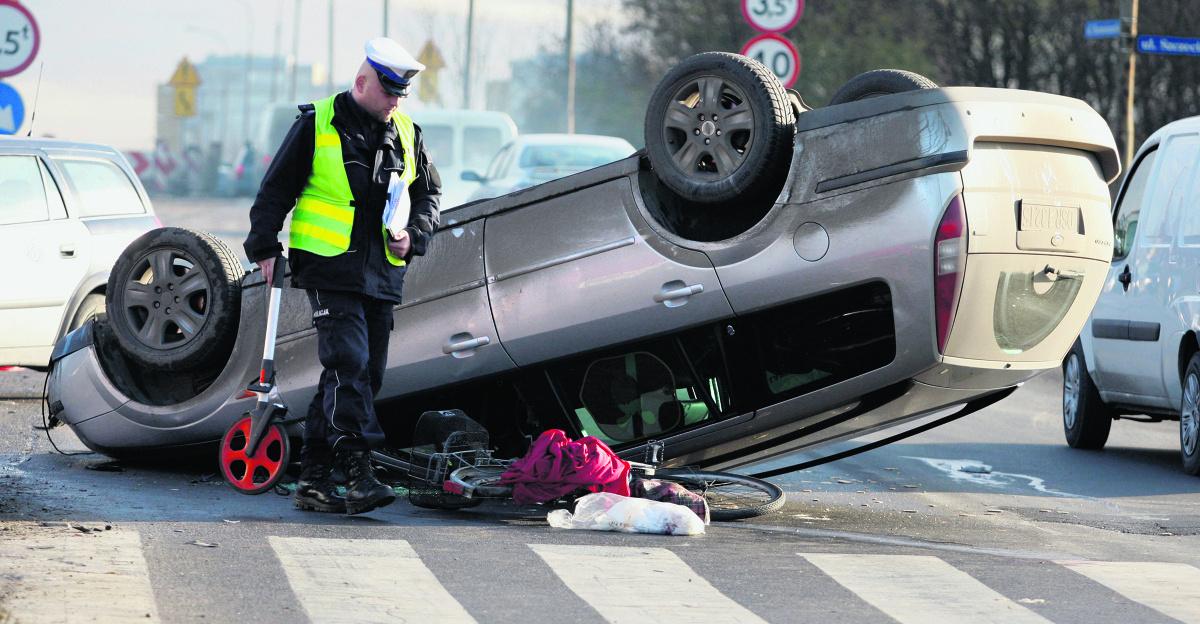 W konfrontacji z samochodem, niekoniecznie ciężarówką, rowerzysta jest zawsze przegrany  Fot: Archiwum