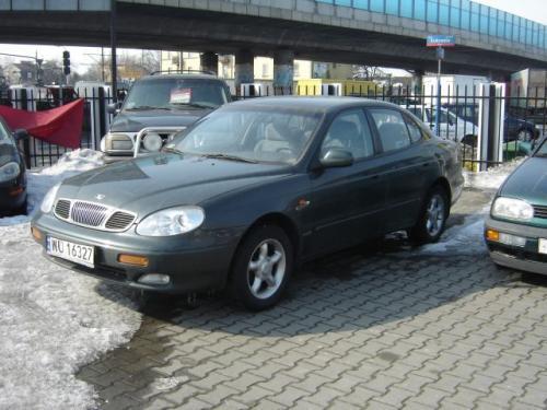 Fot. Wojciech Kołatek:  Duży samochód za stosunkowo niewielkie pieniądze – Daewoo Leganza. Samochód ten jest też dość bogato wyposażony.